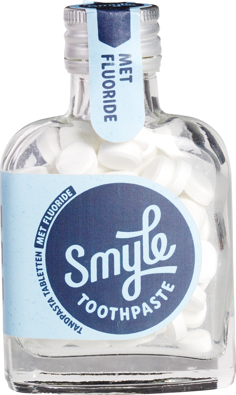 Biologische Smyle Tandpastatabletten fluoride 65 st