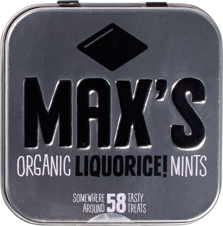 Biologische Max's mints Drop mints 35 g