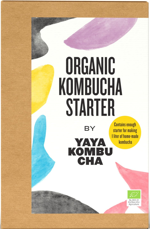 Biologische YaYa Kombucha Kombucha Starter kit 135 gr