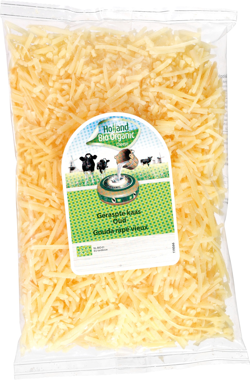 Biologische Holland Bio Organic Geraspte oude kaas 150 gr
