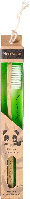 Biologische NextBrush Tandenborstel kids bamboe 1 st