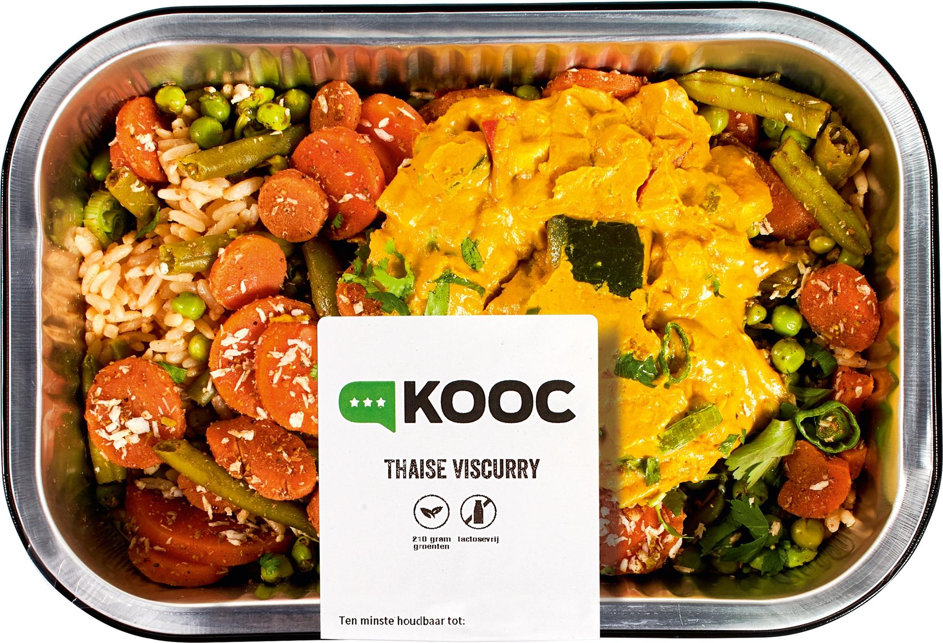 Biologische KOOC Thaise viscurry 450 gr