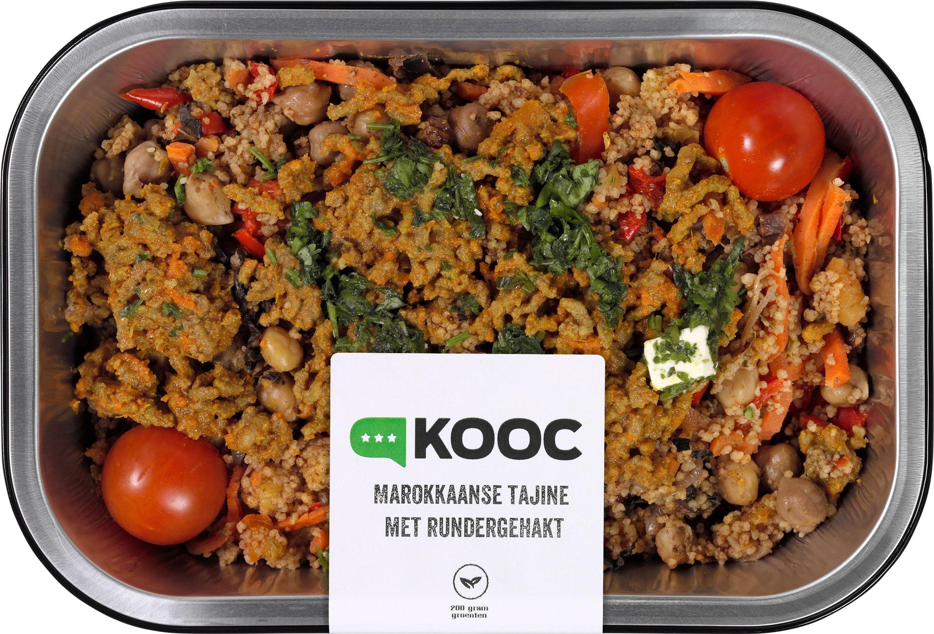 Biologische KOOC Marokkaanse tajine met rundergehakt en koriander 450 gr