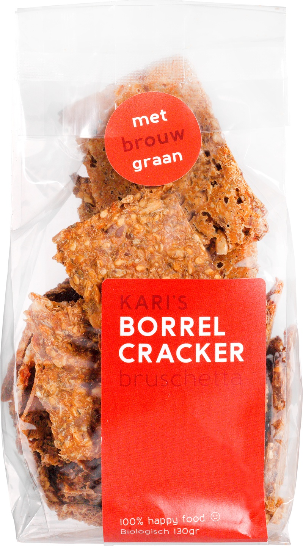 Biologische Kari's Crackers Borrelcracker bruschetta 120 gr