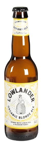 Biologische Lowlander Blond Ale 4% 330 ml