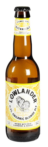 Biologische Lowlander Blond Ale 0,3% 330 ml