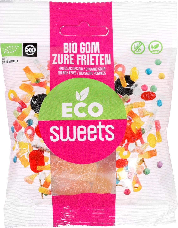 Biologische Eco Sweets Zure frieten 75 gr