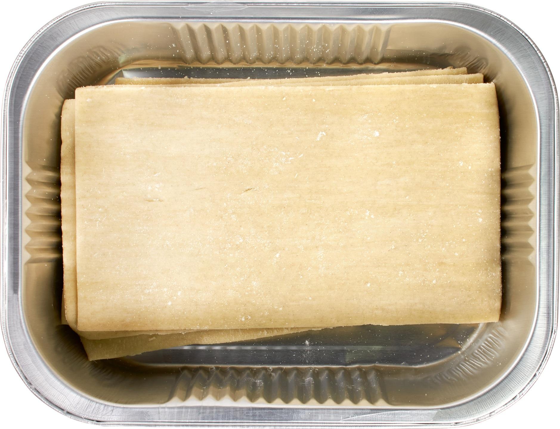 Biologische De Pastafabriek Verse lasagne bladen 250 gr