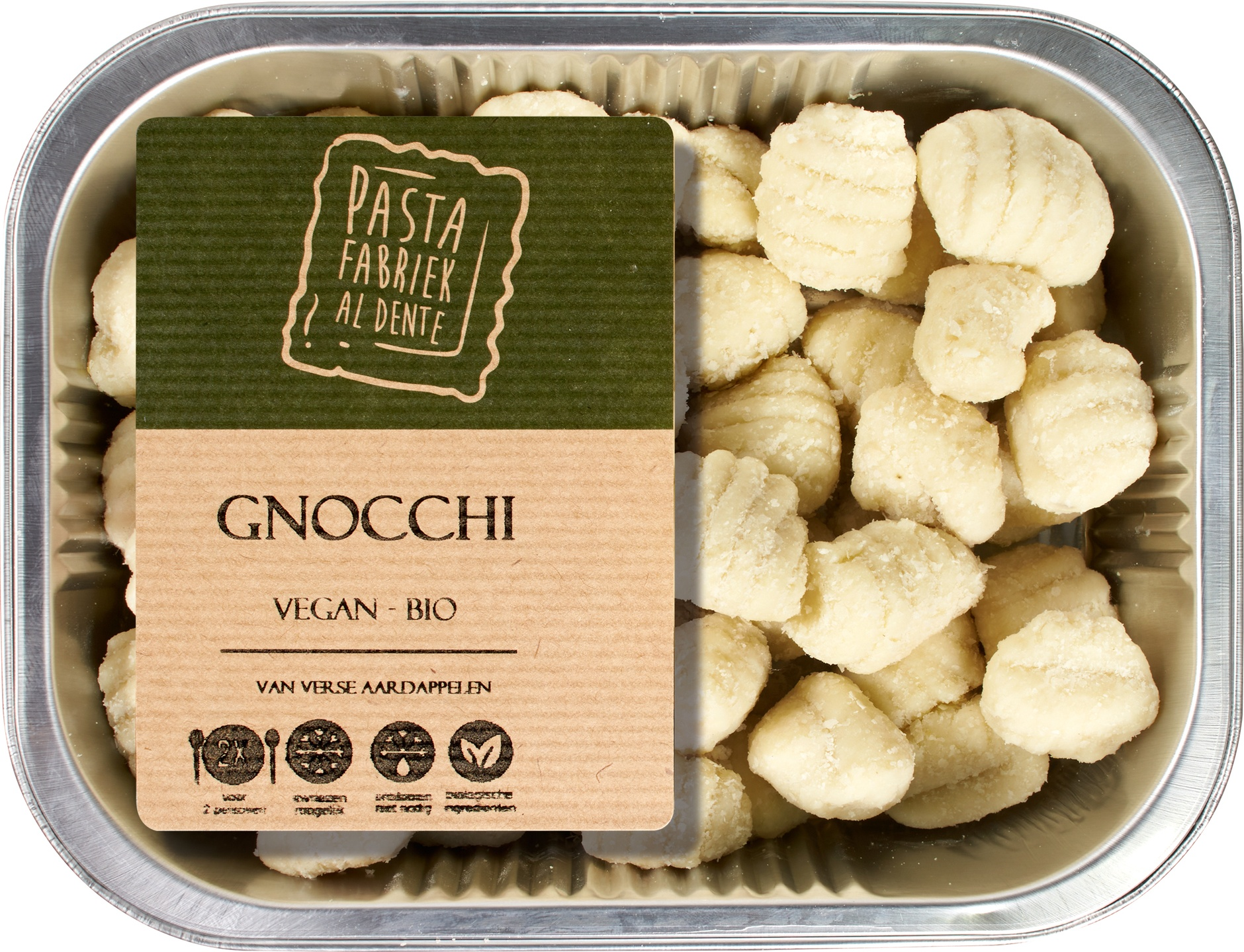 Biologische De Pastafabriek Verse gnocchi 250 gr