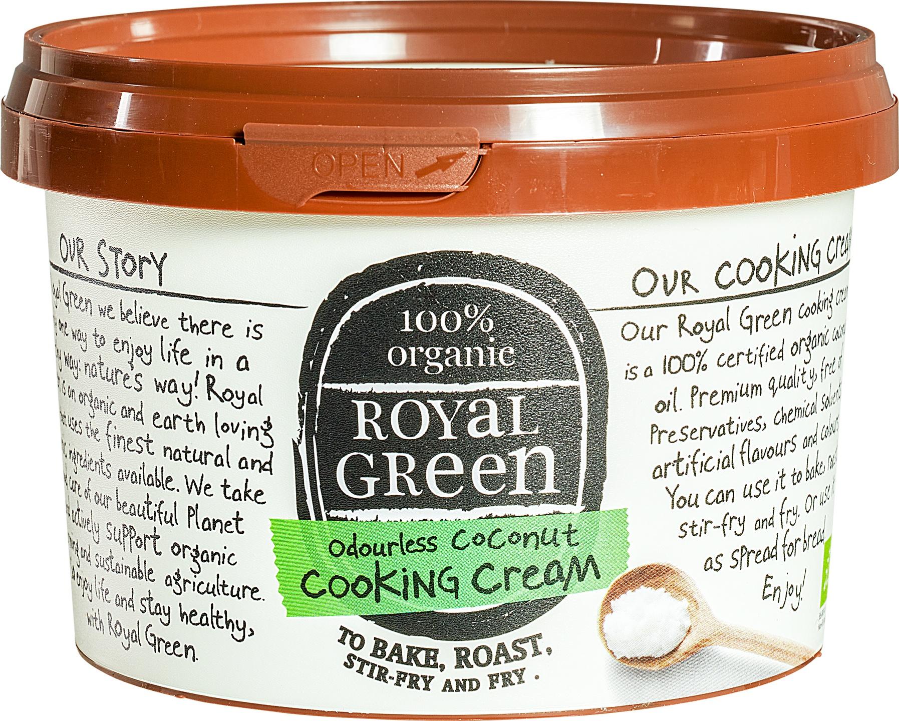 Biologische Royal Green Kokosolie geurloos 500 ml