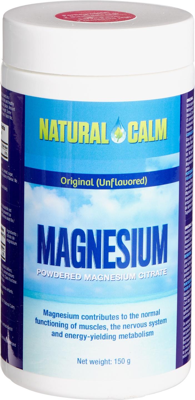Biologische Natural Calm Magnesium 150 gr