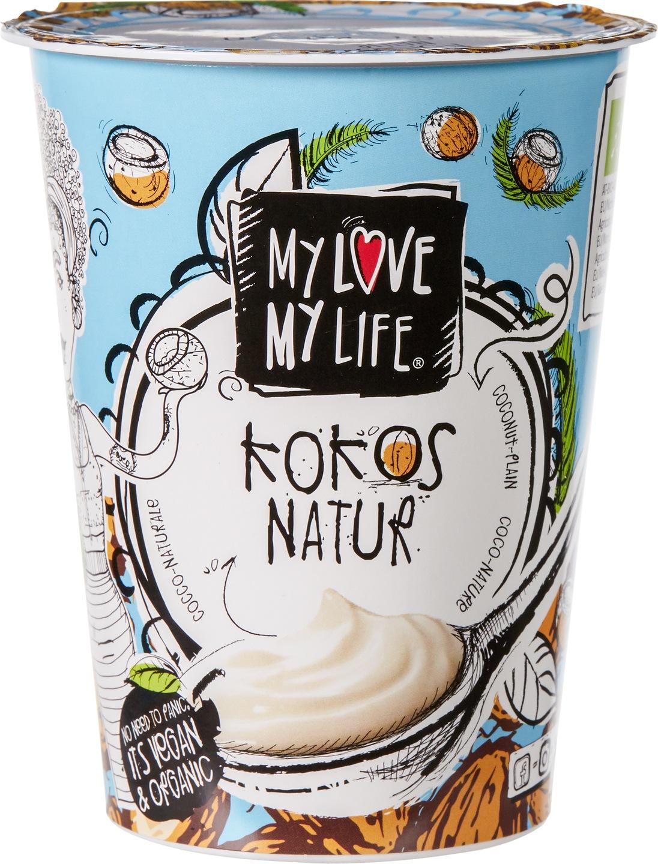Biologische MyLove-MyLife Plantaardige variatie op yoghurt kokos 400 ml