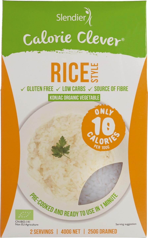 Biologische Slendier Rice style 400 gr