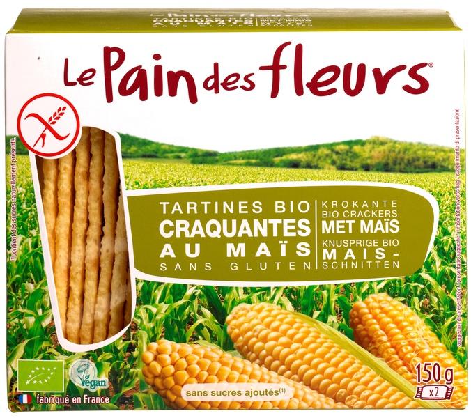 Krokante Crackers Mais Le Pain Des Fleurs Ekoplaza De Grootste