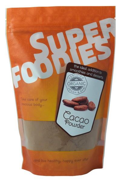 Afbeeldingsresultaat voor Cacaopoeder Superfoodies (Ekoplaza.nl,2017)