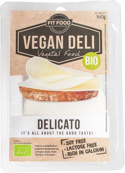 vegan kaas plakken delicato | vegan deli | ekoplaza | de grootste