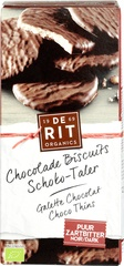 Chocolade biscuits puur