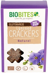 Lijnzaadcrackers naturel