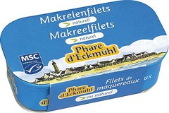 Makreelfilet naturel
