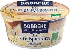 Griesmeelpudding naturel