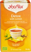 Detox with lemon thee
