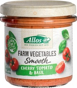 Farm vegetables tomaat-basilicumspread