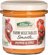 Farm vegetables paprika-chillispread