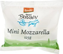 Mozzarella mini 45+ 125 gr