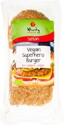Vegan superheld burger