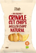 Ribbelchips naturel gezouten