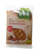 Bio Snack spelt spicy biscuit with almonds