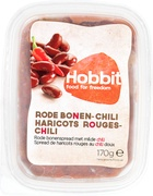Rode bonen-milde chilispread