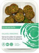 Falafel oh so original burger