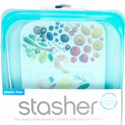 Stasher bag Aqua