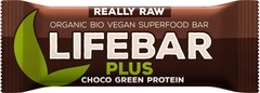 Choco green proteïne lifebar plus