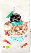 Coconut raisin granola