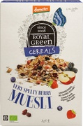 Very spelty berry muesli