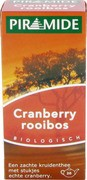 Cranberry rooibos thee