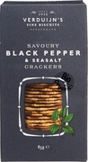 Crackers Black pepper & Seasalt