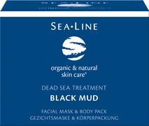Black Mud facial Mask & Body Pack