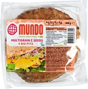 Multigrain & seeds pita