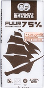 Pure chocolade 75% - Tres Hombres