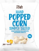 Handpopped corn simply salted