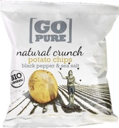 Natural crunch chips black pepper & sea salt