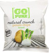 Natural crunch chips fennel