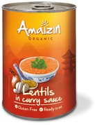 Lentils in curry sauce